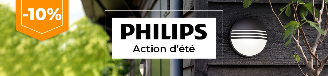 Action estival Philips -10%