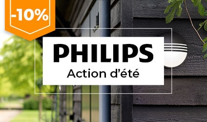 Action estival Philips -10%%