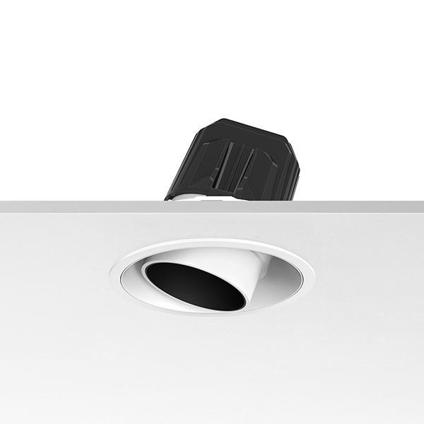 Flos Architectural Light Supply Adjustable Trim LED DIM CRI 80 AN 03.6802.14.DA Noir