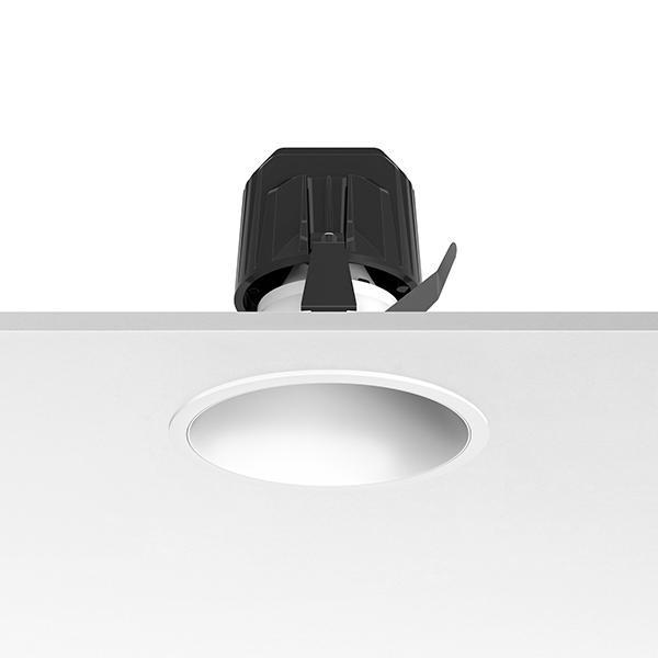 Flos Architectural Light Supply Fixed Trim LED DIM CRI 90 AN 03.6810.3C.DA Blanc / aluminium