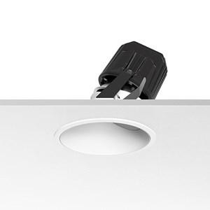 Flos Architectural Light Supply Wall-Washer Trim LED DIM CRI 80 AN 03.6812.1B.DA Noir / blanc