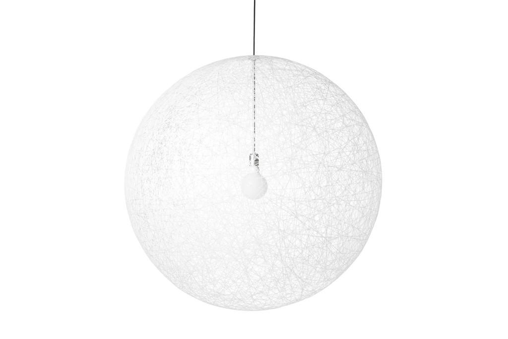 Moooi Random Light Suspension LED medium MO MOLRAL-M Blanc