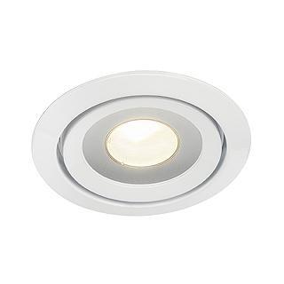 SLV Luzo LED Disk DM 115801 Blanc